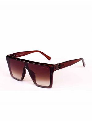 Givenchy Brown Shield Design Sunglasses