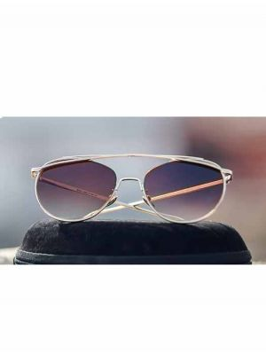 Cool Frame Designed Sunglasses with Brown Lens