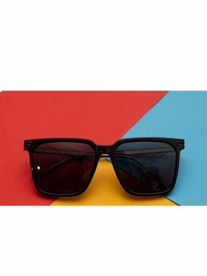 Limitless Black Sunglasses with Polarized Lens