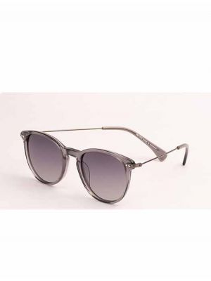 Limitless Polarized Grey Sunglasses Metal with Metal Temple